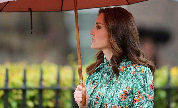 Kate Middleton Vestido Homenaje Diana Flores