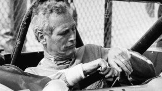 Paul Newman durante una carrera / Gtres