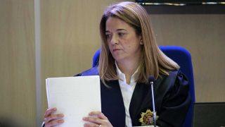 La magistrada Samantha Romero durante el juicio del «Caso  Nóos» /Gtres