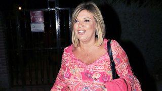 La presentadora Terelu Campos a la salida de su fiesta de cumpleaños /Gtres (PINCHAR EN IMAGEN PARA VER GALERÍA)