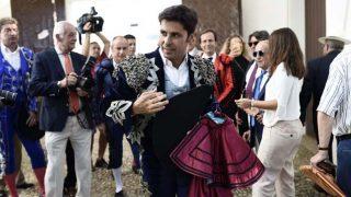 Francisco Rivera a su llegada a la plaza de toros de Ronda /Gtres