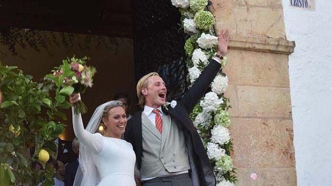 La boda real de Marbella: un vestido de 5000 flores y casi 300 representantes de la aristocracia y realeza europea