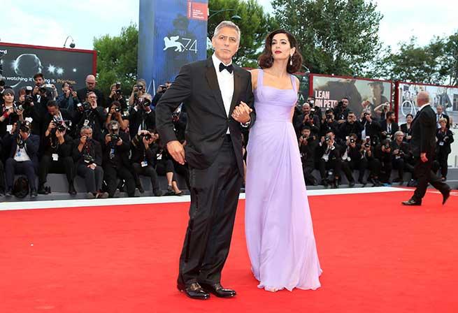 Los Clooney en Venecia / Gtres