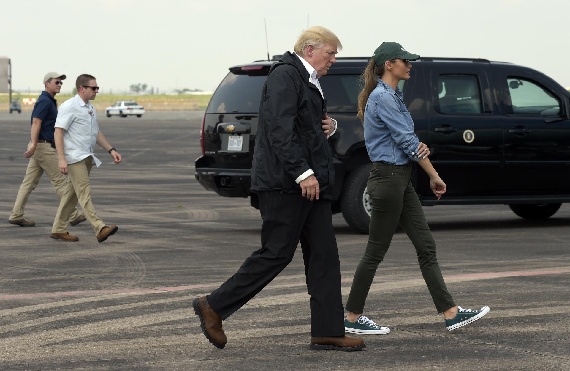 Zapatos Melania Trump Polémica