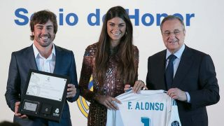 GALERÍA: Fernando Alonso recibe un homenaje como socio honorífico del Real Madrid / Gtres