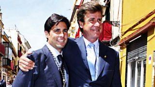 Francisco Rivera y Cayetano Martínez de Irujo, antes de su distanciamiento / Gtres
