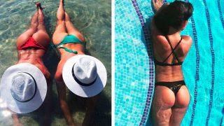 Irina Shayk y Georgina Rodríguez presumen de retaguardia en Instagram