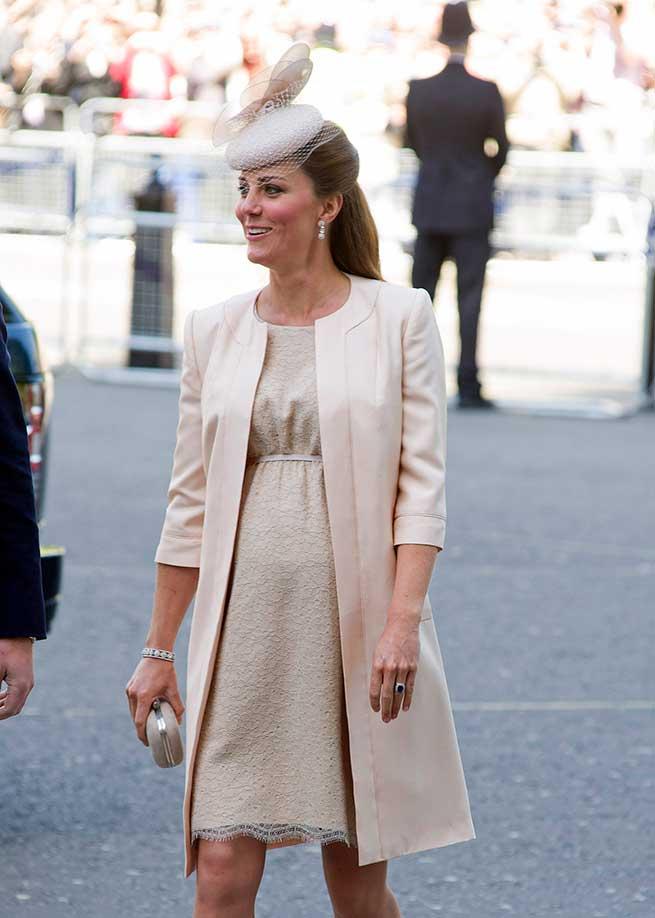 Kate Middleton embarazada estilo