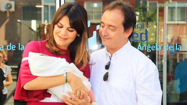 María José Suárez presenta a su bebé, Elías