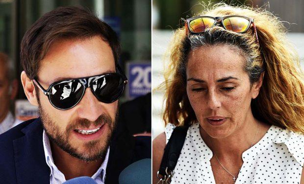 Rocío Carrasco y Antonio David: tensión en su nuevo encuentro en el juzgado