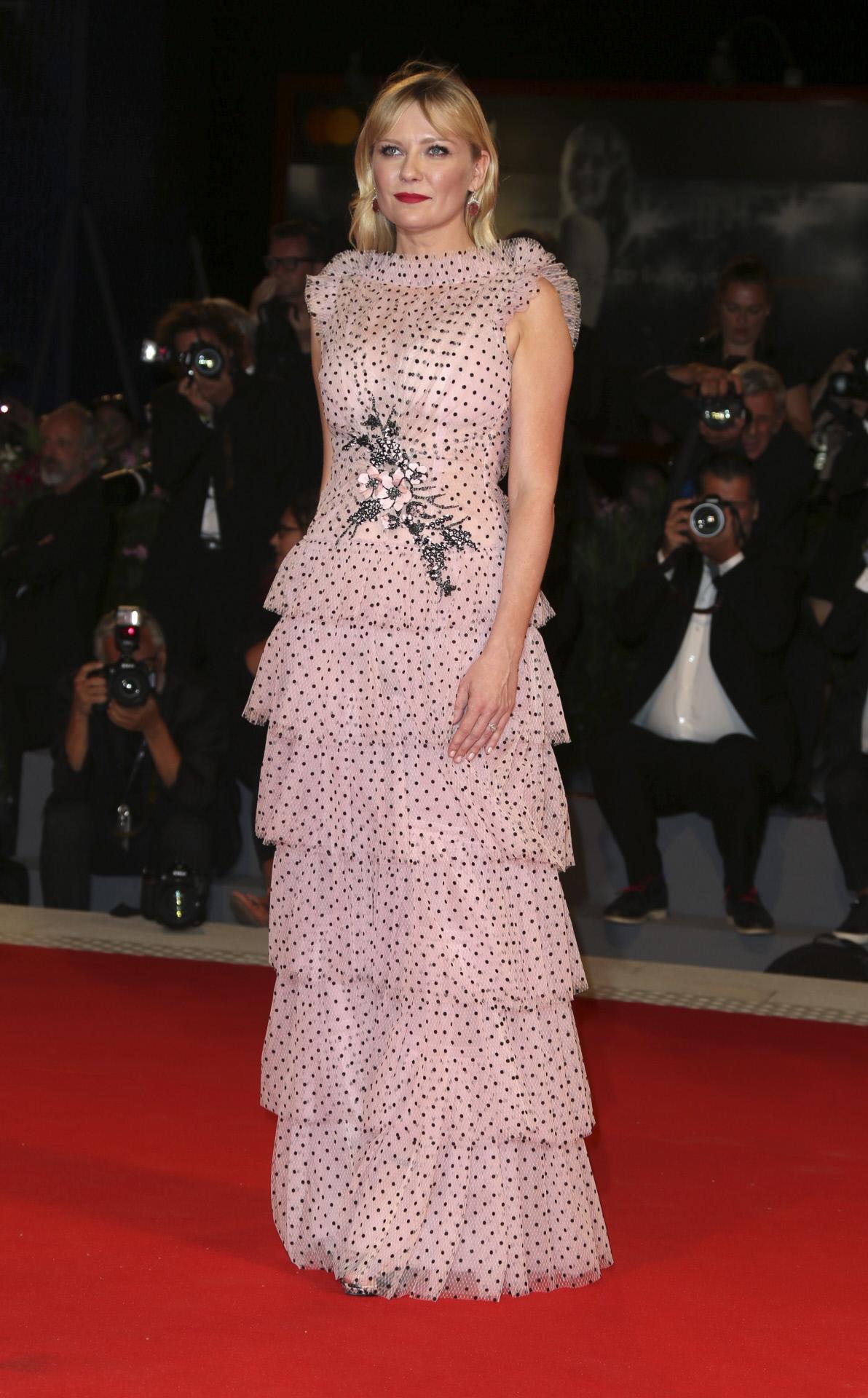 Kirsten Dunst Festival de Cine de Venecia 2017 Rodarte