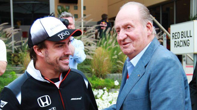 ey Juan Carlos, Fernando Alonso