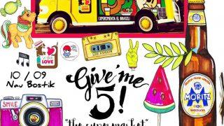 Cartel del Give'me 5 Barcelona