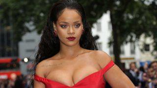 Rihanna durante una alfombra roja reciente / Gtres