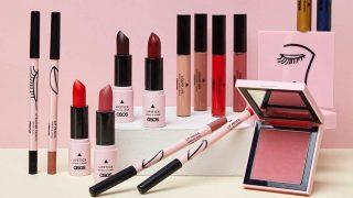Productos de la primera colección de maquillaje. / Asos Make-Up