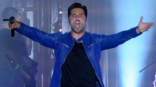 David Bustamante durante un concierto en Málaga / Gtres