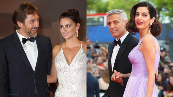 George Clooney Amal Festival de Cine de Venecia 2017 Bardem Penélope Cruz