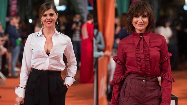 ¿Alfombra roja en clave pantalón? Manuela Velasco y Nathalie Poza dicen sí