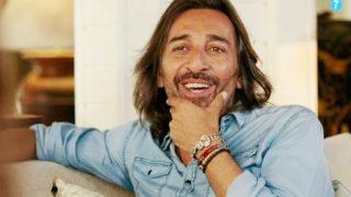 El cantante Antonio Carmona durante la entrevista /Mediaset