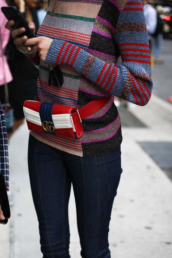 Resultado de imagen de street style neoyorquino riñoneras