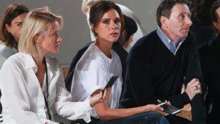 GALERÍA: show de Victoria Beckham en la NYFW / Victoria Beckham, en el 'front row' de su desfile / Gtres