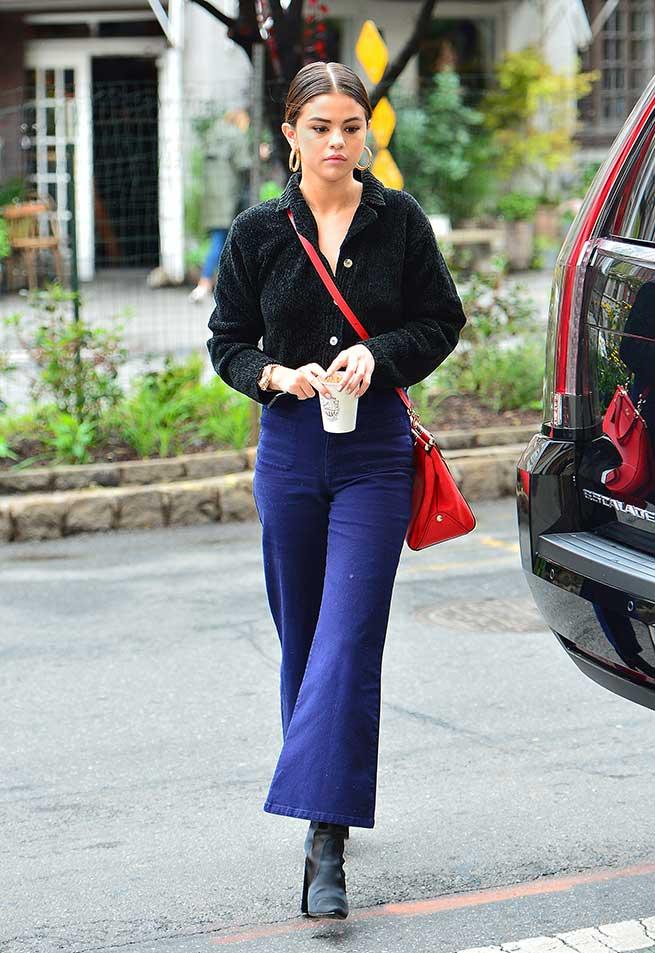 Selena bota calcetín