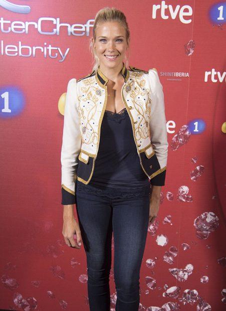La actriz Patricia Montero