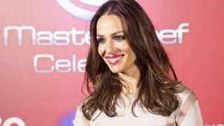 La presentadora Eva González durante la presentación de la segunda temporada de 'MasterChef' /Gtres (PINCHAR EN IMAGEN PARA VER GALERÍA)