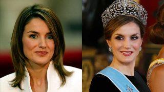 El antes y el después de la reina Letizia. ¡Haz clic en la galería! / Gtres