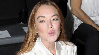 Lindsay Lohan en el desfile /Gtres