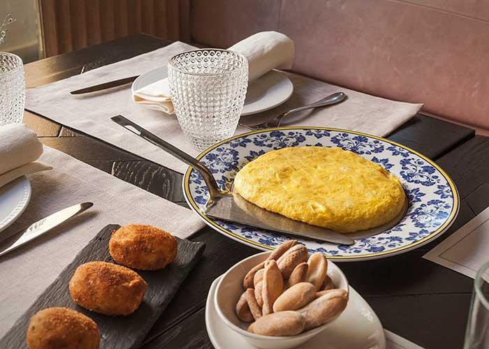 tortilla taberna pedraza madrid