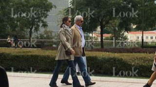 Mario Vargas Llosa e Isabel Preysler en Bilbao /LOOK