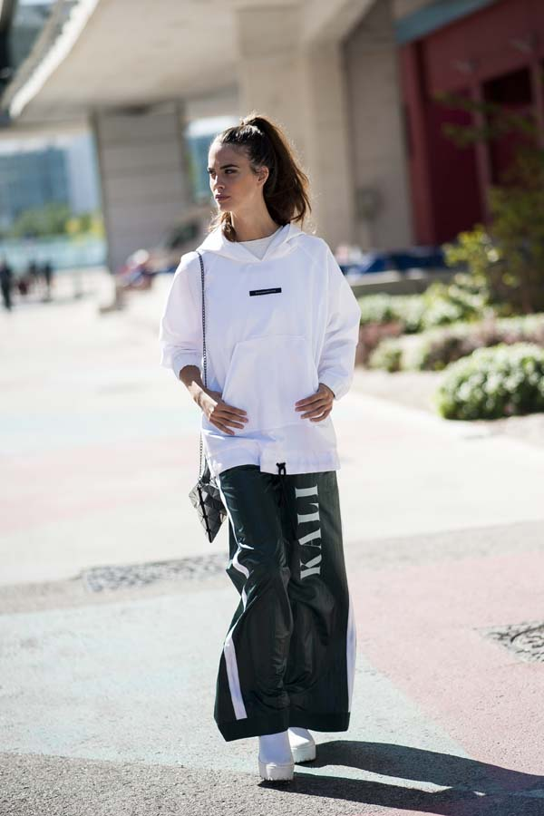 Street Style Pasarela Cibeles Mercedes-Benz Fashion Week Madrid MBFWM