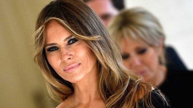 Melania Trump Traje Cuadro Galés