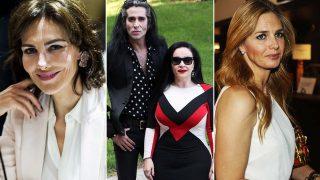 Adriana Abascal, Mario Vaquerizo con su mujer Olvido Gara 'Alaska' y Genoveva Casanova /Gtres