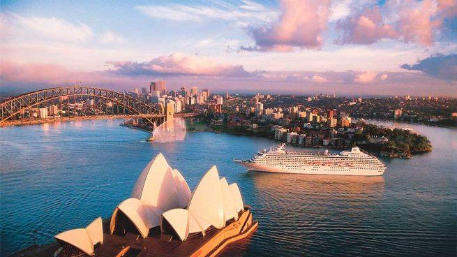 Vuelta al mundo en crucero Crystal Cruises