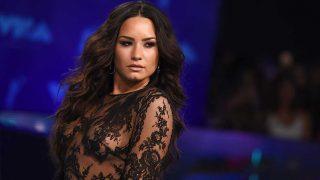 Demi Lovato, durante una actuación / Gtres
