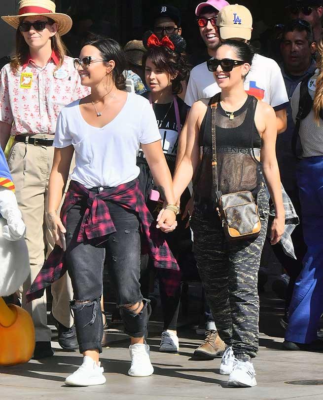 Demi Lovato y Lauren Abedini