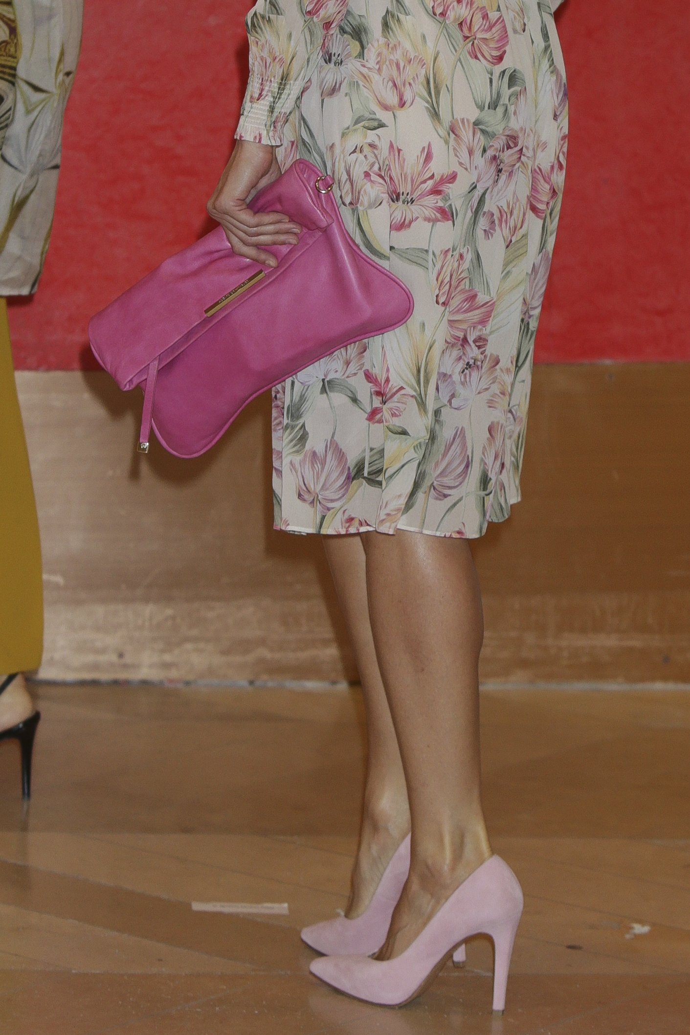 Letizia Vestido Flores Zara