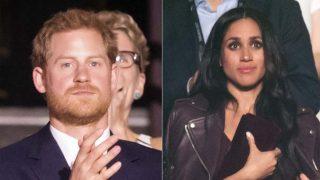 El príncipe Harry y Meghan Markle en un fotomontaje /LOOK