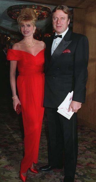 Ivana Trump y Riccardo Mazzuchelli en una imagen de archivo / Gtres