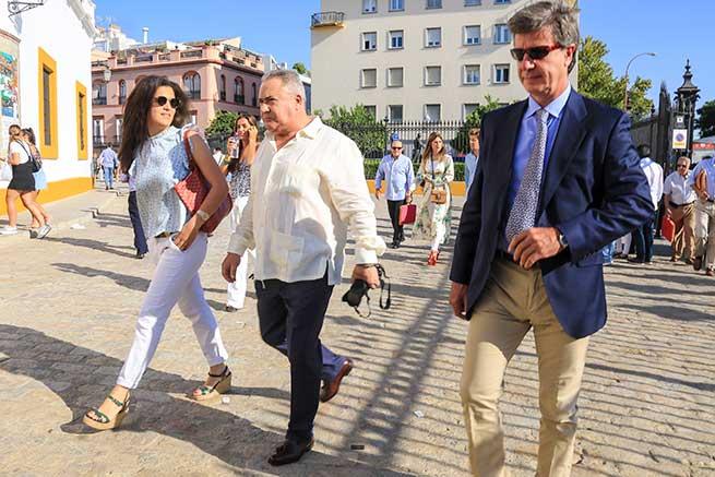 Cayetano Martínez de Irujo y Bárbara Mirján