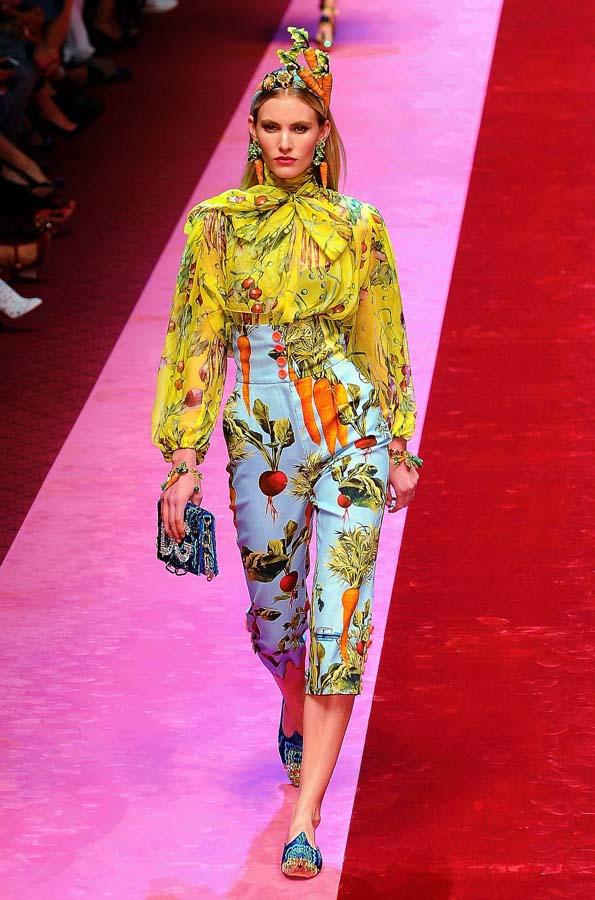 Colección Primavera - Verano 2018 Dolce & Gabbana Milan Fashion Week