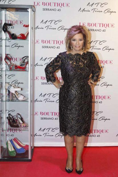 María Teresa Campos Look Zapatos