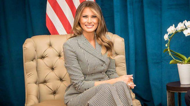 Melania Trump Traje Dior