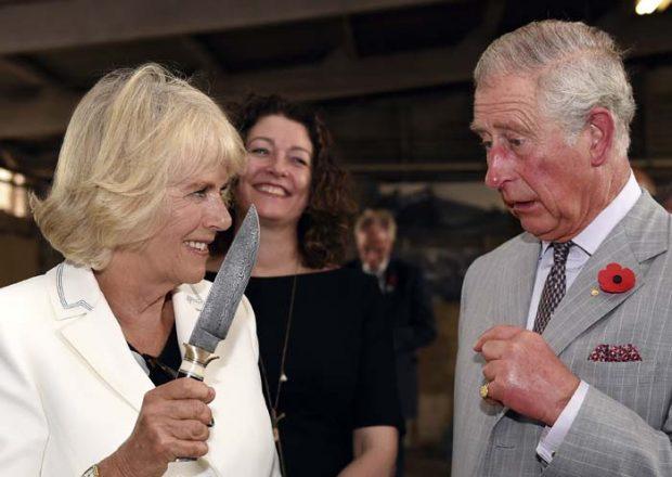 Príncipe Carlos de Inglaterra y Camilla Parker Bowles
