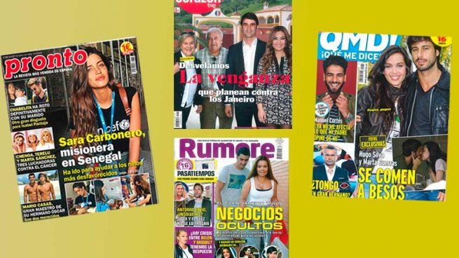 Revistas del lunes 25 de septiembre