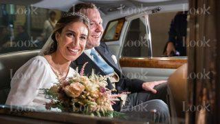 Alejandra Balbás del Castillo y Curro Fontán Vilanova, recién casados / LOOK