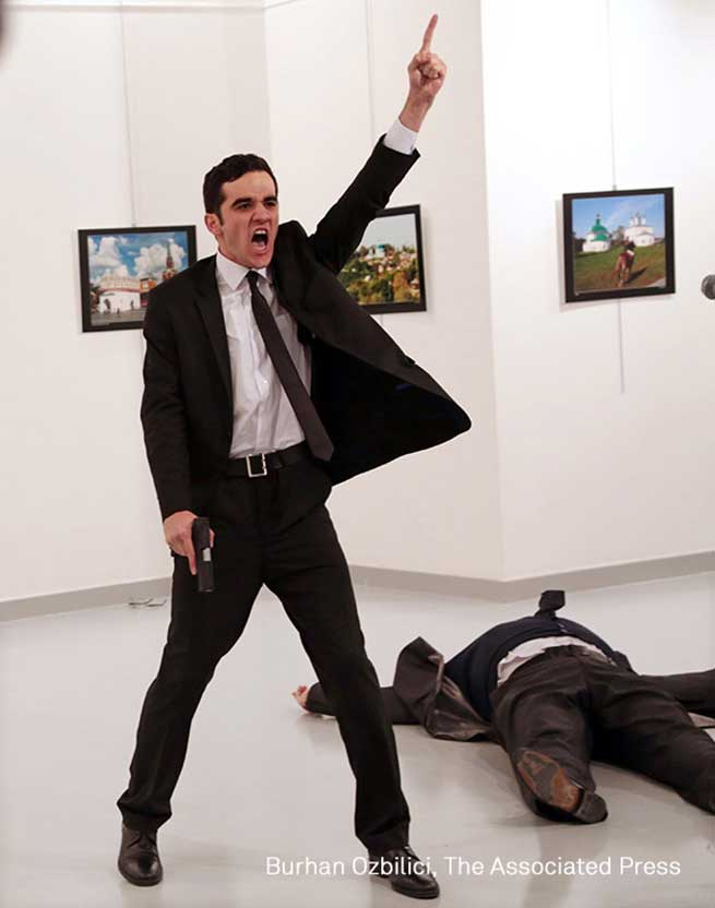 Foto ganadora del certamen World Press Photo 2016