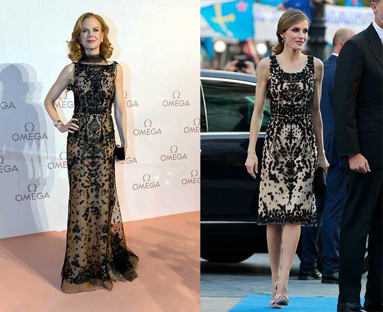 La reina Letizia ¿copia? a Nicole Kidman